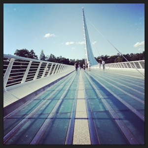 Sundial Bridge. Redding, CA