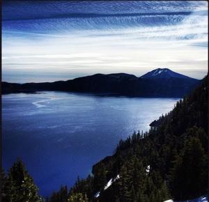 Early morning at Crater Lake, Oregon