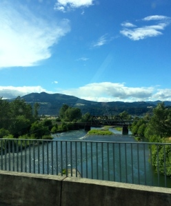 Crossing the river from Hood River, Oregon to White Salmon, Washington