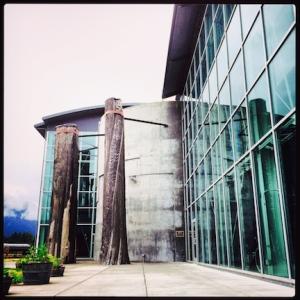 Columbia Gorge Interpretive Center Museum. Washington