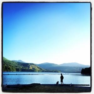 Mark & Dax @ Swift River Reservoir Campground