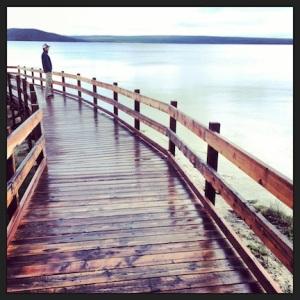 Mark @ Yellowstone Lake