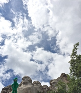 A new head has been added @ Mt Rushmore!
