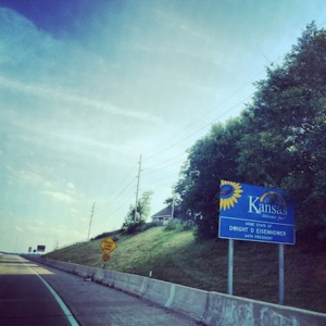 We're in freakin' Kansas!