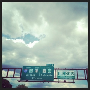 Crossing another state line. Always thrilling. Never boring!