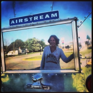 Selfie w/ a cool Airstream