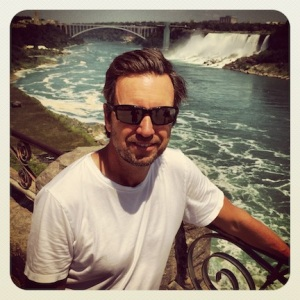 Mark @ the falls