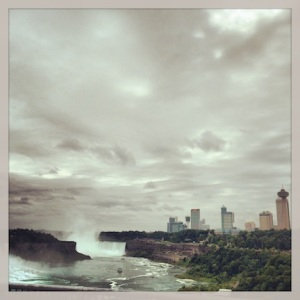 Last views of Niagara Fall