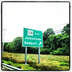 This way to Newport!