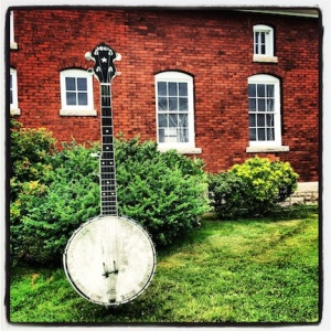The iconic big banjo @ Newport Folk Festival