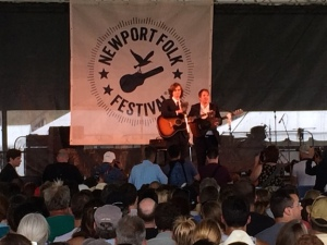 The Milk Carton Kids. Great music, and very funny too.