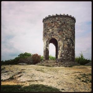 Observation tower @ Mt Battie
