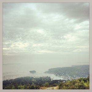 View from Mt Battie