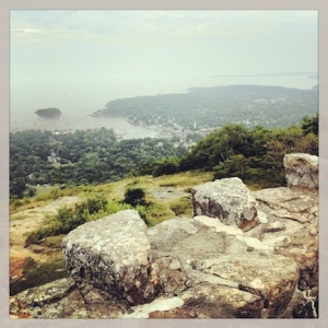 View from Mt Battie