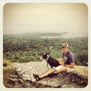 Mark & Dax @ Mt Battie