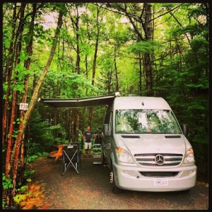 Tucked in @ Bar Harbor Campground