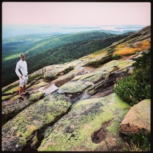 @ the top of Cadillac Mountain