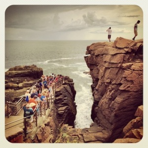 Thunder Hole. Acadia National Park, Maine