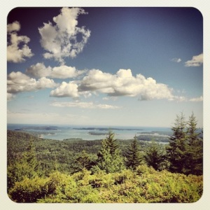 @ the top of Beech Mountain