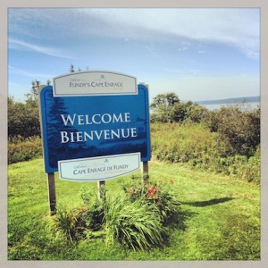 Cape Enrage! The ultimate in wedding anniversary destinations!