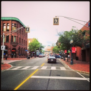 Doing a drive-through of Moncton, New Brunswick