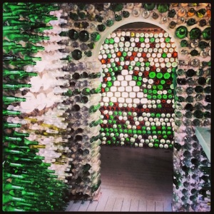 Glass Bottle House