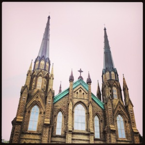 A big Basilica in Charlottetown