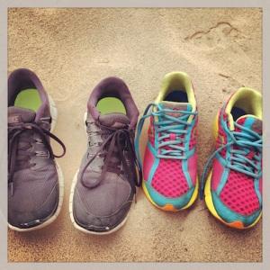 Portrait of our shoes