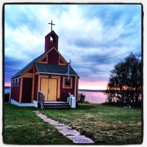 Old church in Souris