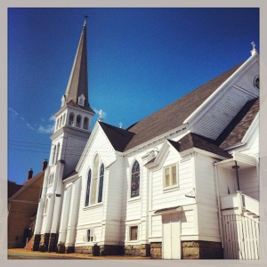 Of course there were old, quaint churches in Lunenburg