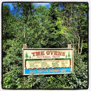 The Ovens, campground