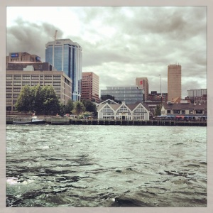 Halifax, as seen from the Harbour Hopper