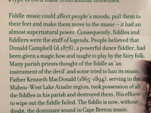 Fun facts about Cape Breton fiddle music!