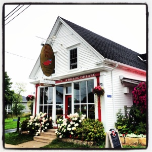 The Red Shoe Pub, in Mabou