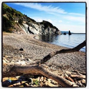 Rocky alcove, Cape Breton