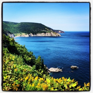 On the way to Meat Cove
