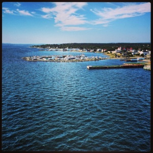Leaving Sydney, Nova Scotia