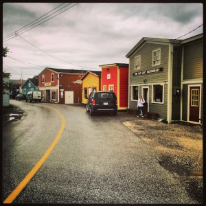 We made a short ddrive-through and photo stop at Woody Point