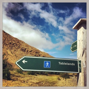 Hiking + Tablelands...that way.....