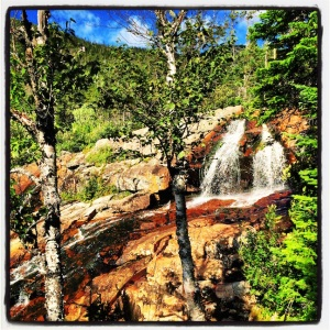 Hiking to Southeast Brook Falls