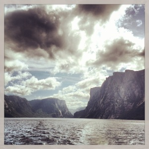 Western Brook Pond Fjord