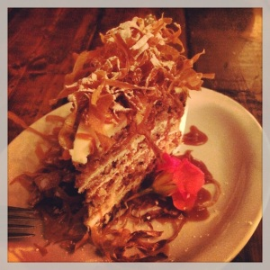Parsnip cake!!!