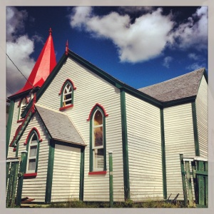 Old church that's now a private residence. Quidi Vidi