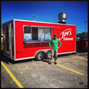 Man & food truck. Happy times!