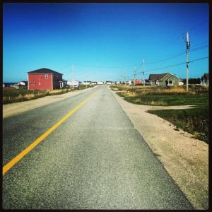 Driving around the peninsula....