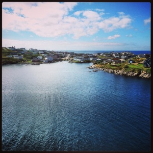 Port aux Basques, from the ferry.