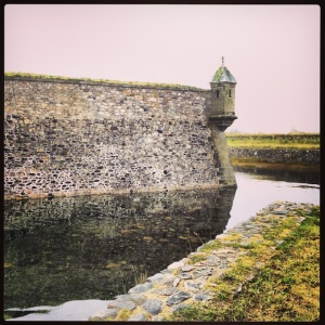 A fortress must have a moat, right?