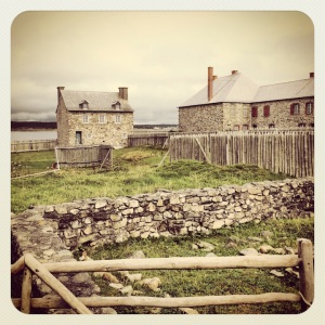 @ the Fortress of Louisbourg