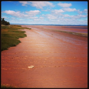 Yes, the riverbed IS really this red!