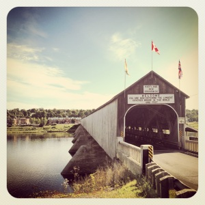 Longest covered bridge in the world!
